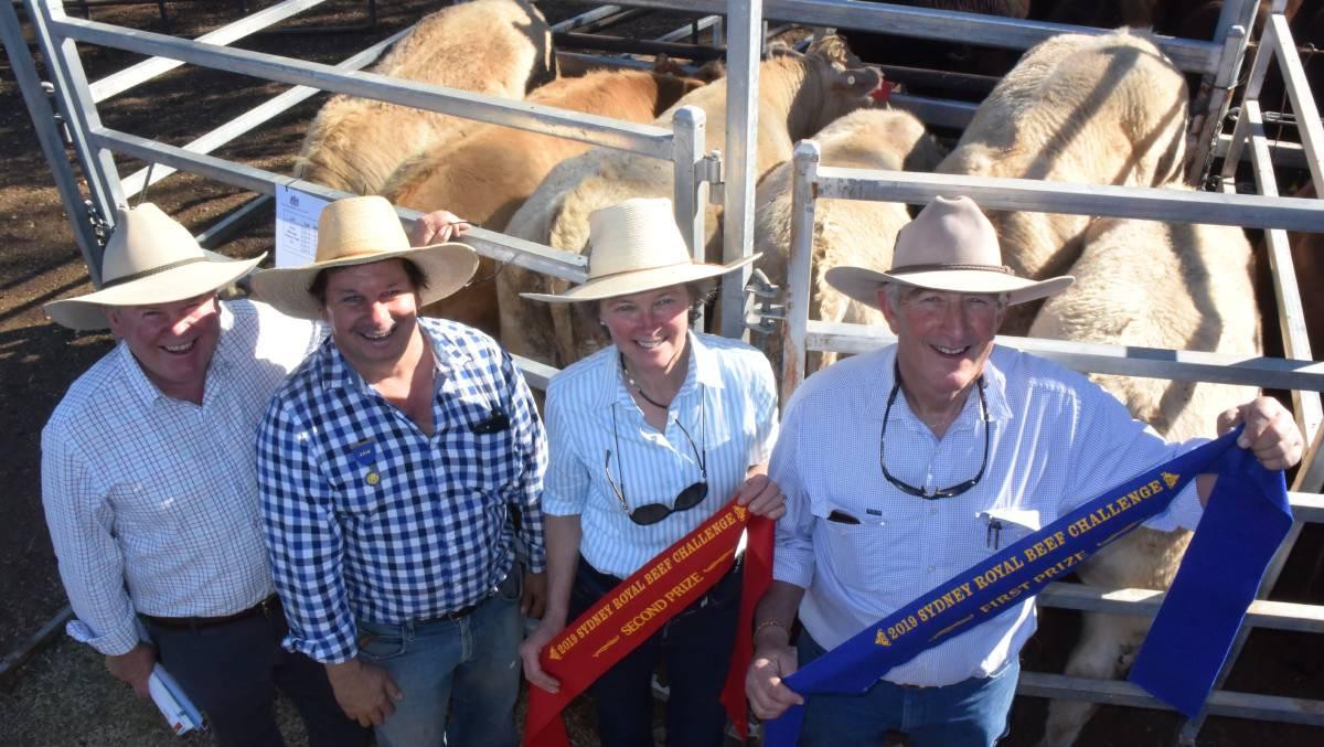 Branga Plains Claims 2019 Sydney Royal Beef Challenge win Rosedale Genetics